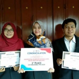 Keren! Mahasiswa UIN Malang Sodorkan Inovasi TiO2-N/zeolit untuk Solusi Limbah Zat Warna