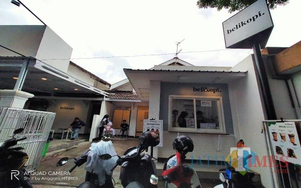 Lokasi Cafe Beli Kopi yang dibobol oleh maling (Anggara Sudiongko/MalangTIMES)