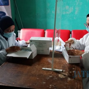 Libur Nataru, Stasiun KA Blitar Berikan Fasilitas Layanan Rapid Test Antigen
