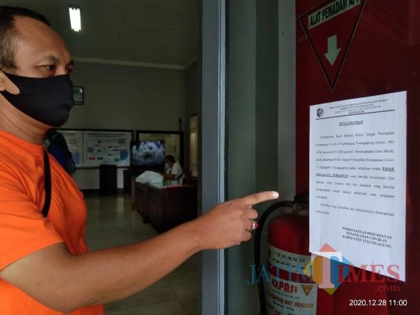 Zona Merah, Satgas Covid-19 Tulungagung Larang Izin Hajatan