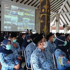 827 ASN Kabupaten Malang Dilantik, Ini Pesan Bupati Sanusi