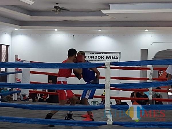 Kejuaraan Tinju Pemuda Pancasila Se Jawa Bali di Pondok Wina Banyuwangi Nurhadi Banyuwangi Jatim Times
