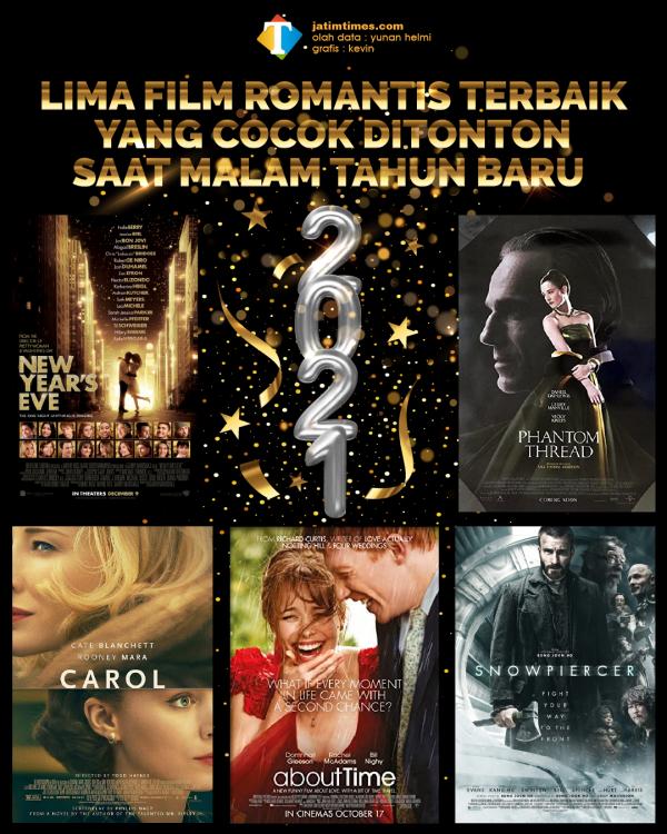 Rekomendasi Film Romantis yang Cocok untuk Temani Malam Tahun Baru 2021 di Rumah