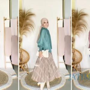 Styling Aneka Atasan Blouse untuk Outfit Harianmu Ala Hijabers Richa Etika Ulhaq
