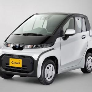 Penghujung Tahun 2020, Toyota Luncurkan Mobil Listrik C+pod, Cuma Nampung 2 Orang