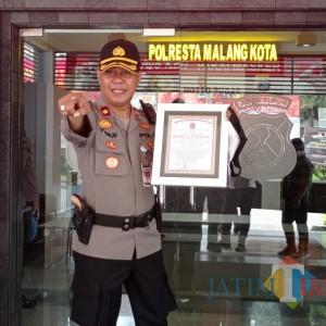 Aktif saat Covid-19, Kompol Yusuf Diganjar Promoter Reward