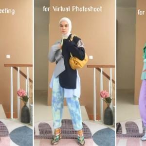 Ingin Tetap Kece Saat Berkegiatan Virtual? Intip Dress Up Ala Tantri Namirah Ini Yuk!