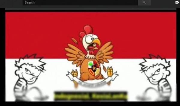 Parodi lagu Indonesia Raya (Foto: YouTube)
