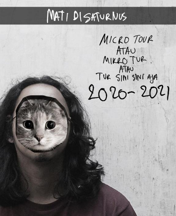 Poster serangkaian micro tour dari solois asal Malang, Aril. (Foto: Dok. Aril)