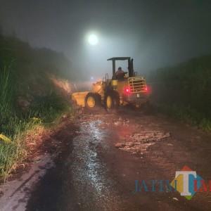 Kota Batu Banjir Lumpur dan Tanah Longsor