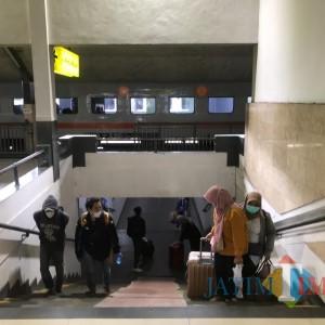 Arus Balik, Penumpang KA Stasiun Kota Baru Malang Terbanyak Setelah Surabaya
