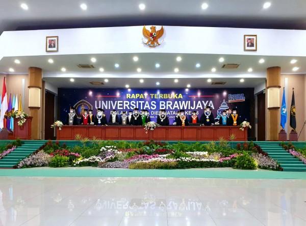 Presiden Jokowi dan Mendikbud Orasi Ilmiah di Rapat Senat Terbuka UB ke-58