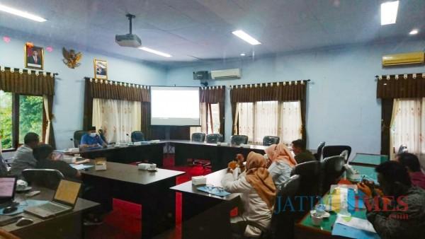 Situasi rapat Badan Musyawarah DPRD Trenggalek