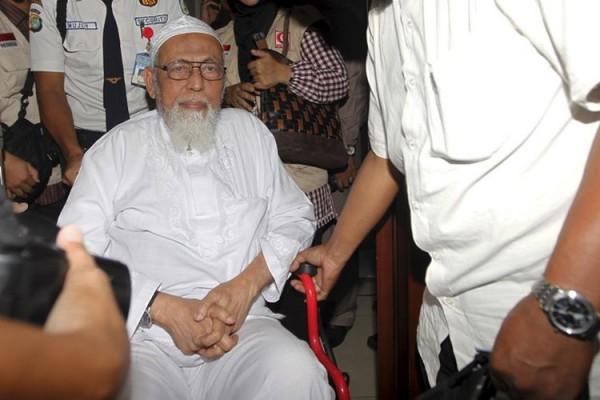 Abu Bakar Ba'asyir (Foto: Kompas.com)