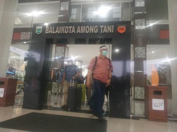 KPK berkunjung ke Balai Kota, Batu, Rabu (6/1/2021)