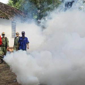 Waspada DB dan Cikungunya, Pemkot Kediri Melakukan Fogging
