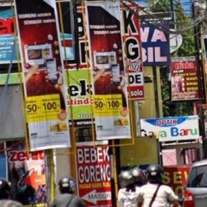Sepanjang 2020, Tercacat Ada 407 Reklame Ilegal di Kota Batu