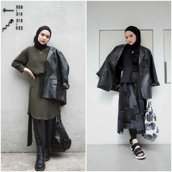 Tampil Playful Dengan Outfit Serba Hitam? Intip Inspirasi Busana Soraya Ulfa Ini Yuk!