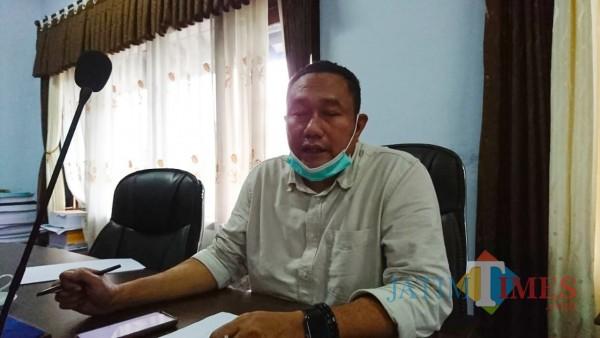 Doc. Mugianto, Ketua Komisi IV DPRD Trenggalek saat mengikuti rakor dengan Pemprov Jatim