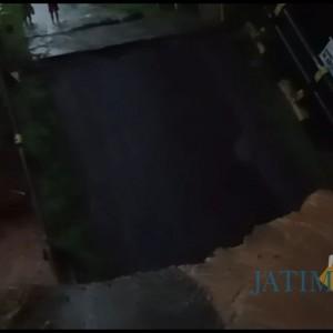 Hujan Deras Sebabkan Jembatan di Kasembon Ambrol, Ribuan Warga Terisolir