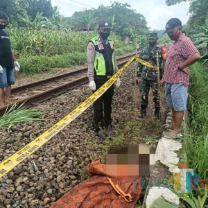 Tragis, Ibu Rumah Tangga  Tewas Tersambar Kereta Api saat Pulang Belanja