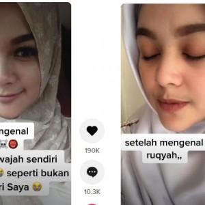 Viral Pengakuan Wanita Wajahnya Makin Glowup karena Dirukiah, Lihat Perbedaannya