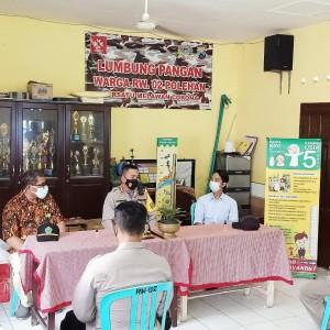 Sambangi Kampung Tangguh Semeru di Polehan, Kapolresta Malang Sampaikan Pesan Ini