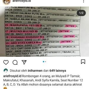 Jadi Korban Kecelakaan Pesawat Sriwijaya Air, Begini Sosok Mantan Ketum PB HMI