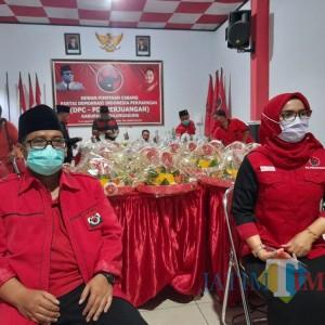Penanaman 48 Ribu Pohon, Warnai HUT ke- 48 PDIP Tulungagung