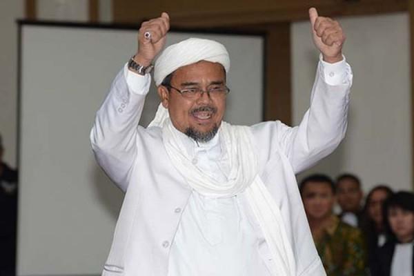 Rizieq Shihab (Foto: Kompas.com)