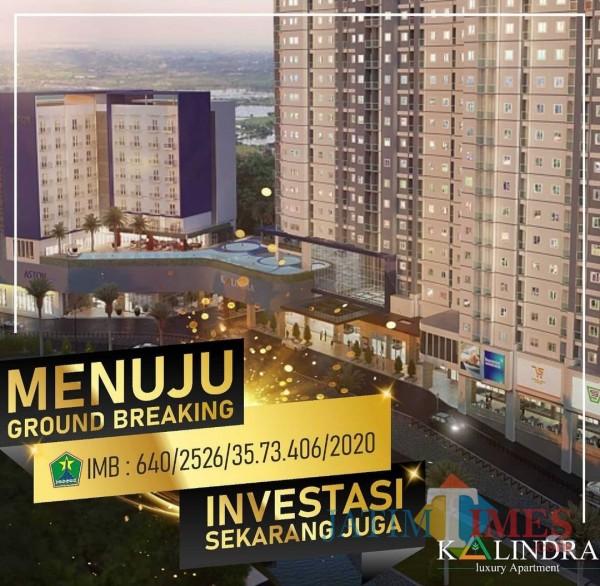 Investasi Awal Tahun 2021, The Kalindra Apartemen Segera Groundbreaking