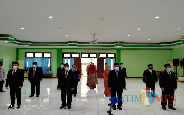 11 pengurus DPKM yang dikukuhkan oleh Wali Kota Malang hari ini (Anggara Sudiongko/MalangTIMES)