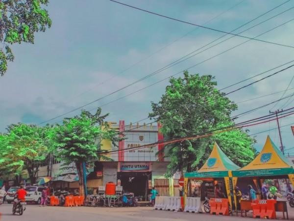 Kondisi terkini proyek revitalisasi Pasar Baru Probolinggo. (Foto: Dita Ayu Lutfiana for JatimTIMES)
