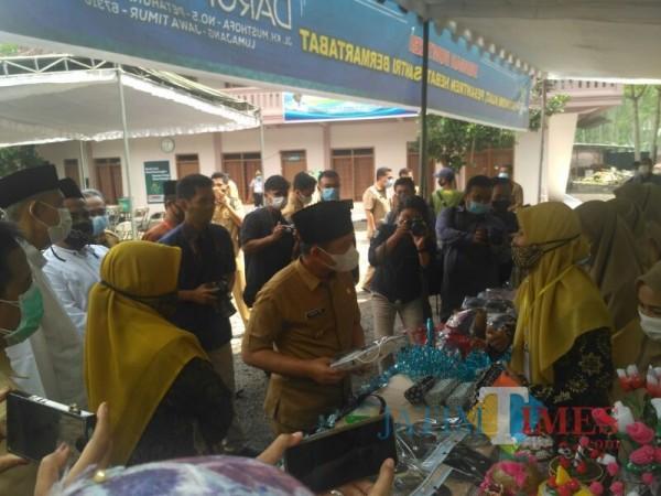 Bupati Lumajang H. Thoriqul Haq, M.ML (Foto: Bramastyo Dhieka Anugerah / Jatim Times)
