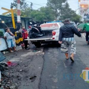 Adu Banteng Beat Vs Scoopy, Satu Orang di Ngunut Tulungagung Tewas di TKP