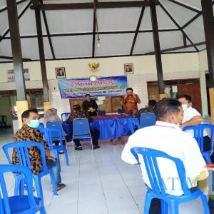 Dua Formasi Empat Peserta, Ujian Perangkat Desa Jatidowo Tetap Kompetitif