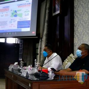 Rakor PPKM, Plt Wali Kota Whisnu Perbolehkan Pabrik Tak Harus WFH