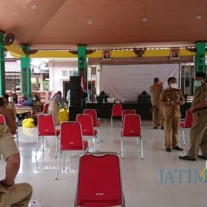 Unsur Pimpinan OPD di Bangkalan Dites Swab Masal, Mengapa?