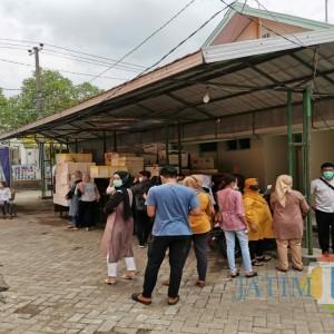 Seluruh Tamu Pesta Ultah Anak Kades yang Viral di Tulungagung Jalani Swab, Hasilnya..
