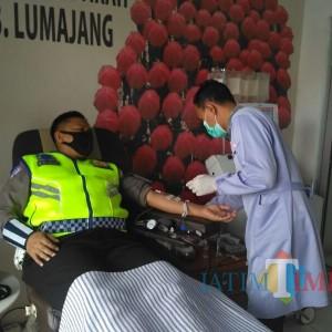 Polres Lumajang Inisiasi  Donor Plasma Konvalesen
