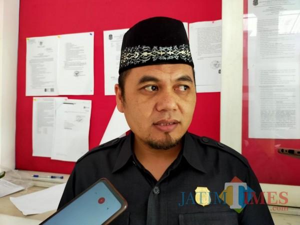 Wakil Ketua Komisi III DPRD Kota  Blitar, Nuhan Wahyudi (Dokumentasi JatimTIMES).