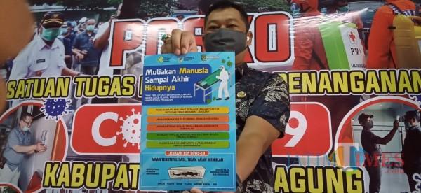 juru bicara satgas penanganan covid-19 Tulungagung, Galih Nusantoro (Foto: Joko Pramono for JatimTIMES).