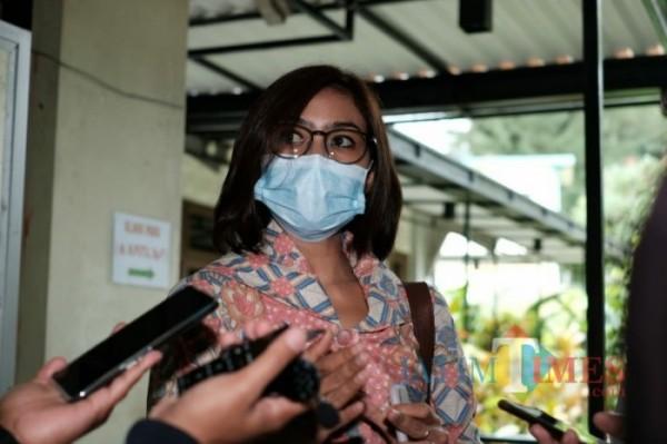 Kepala BPJS Kesehatan Cabang Malang dr Dina Diana Permata saat ditemui di Rumah Sakit Baptis, Rabu (13/1/2021).
