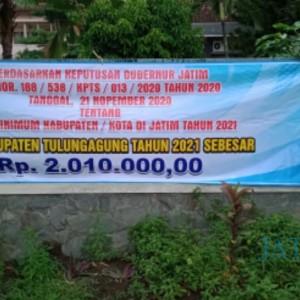 Dibahas Dengan Musyawarah, UMK Tulungagung 2021 Ditetapkan Rp 2.010.000