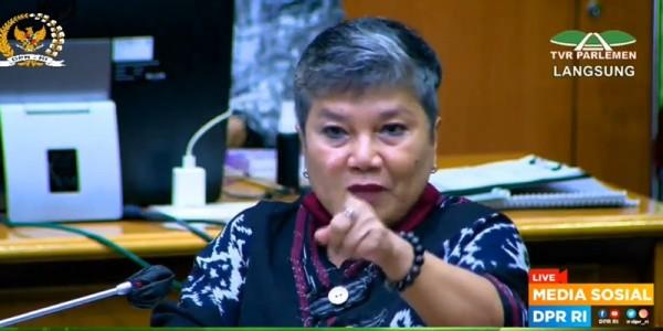 Anggota DPR Komisi IX dari Partai Demokrasi Indonesia Perjuangan (PDI-P) Ribka Tjiptaning  (Foto: RMOL.id)