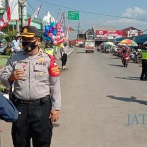 Kurangi Pelanggaran Prokes, Polsek Bululawang Operasi Yustisi Tiga Kali Sehari