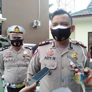 Kawal PPKM, Satlantas Polres Malang Incar Balap Liar