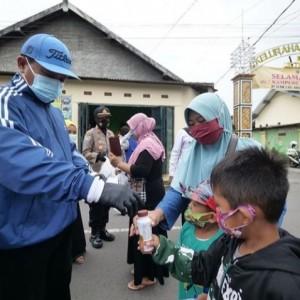 PPKM, 3.729 Paket Sayuran Dibagikan Pemkot Madiun dan Muhammadiyah