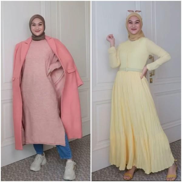 Outfit untuk segala musim ala influencer Indah Nada Puspita. (Foto: Instagram @indahnadapuspita).