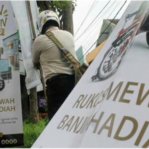 Awal Tahun, Bapenda Kabupaten Malang Gencar Lakukan Razia Iklan Liar